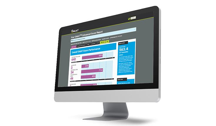 GMAT™增强型成绩单